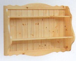 Pensili Rustici Per Cucina.Mobile Pensile Pensili Piattaie Piattaia Cucina Cucine Rustico Arte Povera Pino Ebay