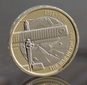 first world war aviation 2 coin