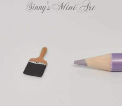 1:12 Dollhouse Miniature Paint Brush// Miniature Tools IM 0125