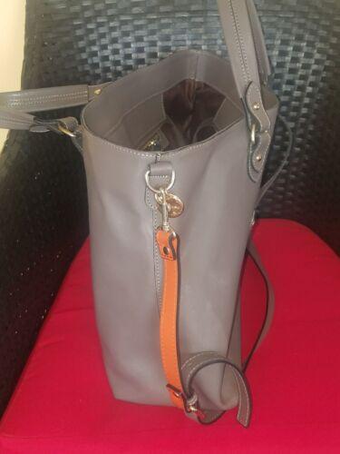 Large Top Dimoni Gray Handleamp; Shoulder Spain Removable Zip And Strap Orangetop MGqpjLSVUz