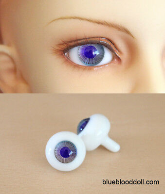 14mm bjd glass doll eyes two shades colors dollfie iplehouse luts #CH-04 ship US