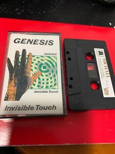 GENESIS-INVISIBLE-TOUCH-Michael-641-Cassette-Tape-Rare