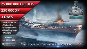 Details about World of Warships | 25 mln silver & 250 000 XP / 3 Days ( Not  Bonus Code ) WoWs