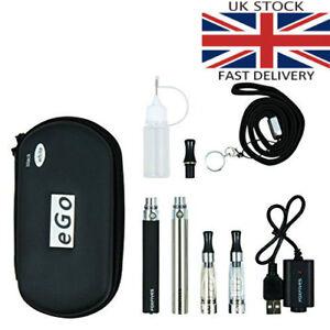 2x-E-Cigarette-CE4-1100-mAh-Rechargeable-Battery-Full-Kit-Gift-Pack
