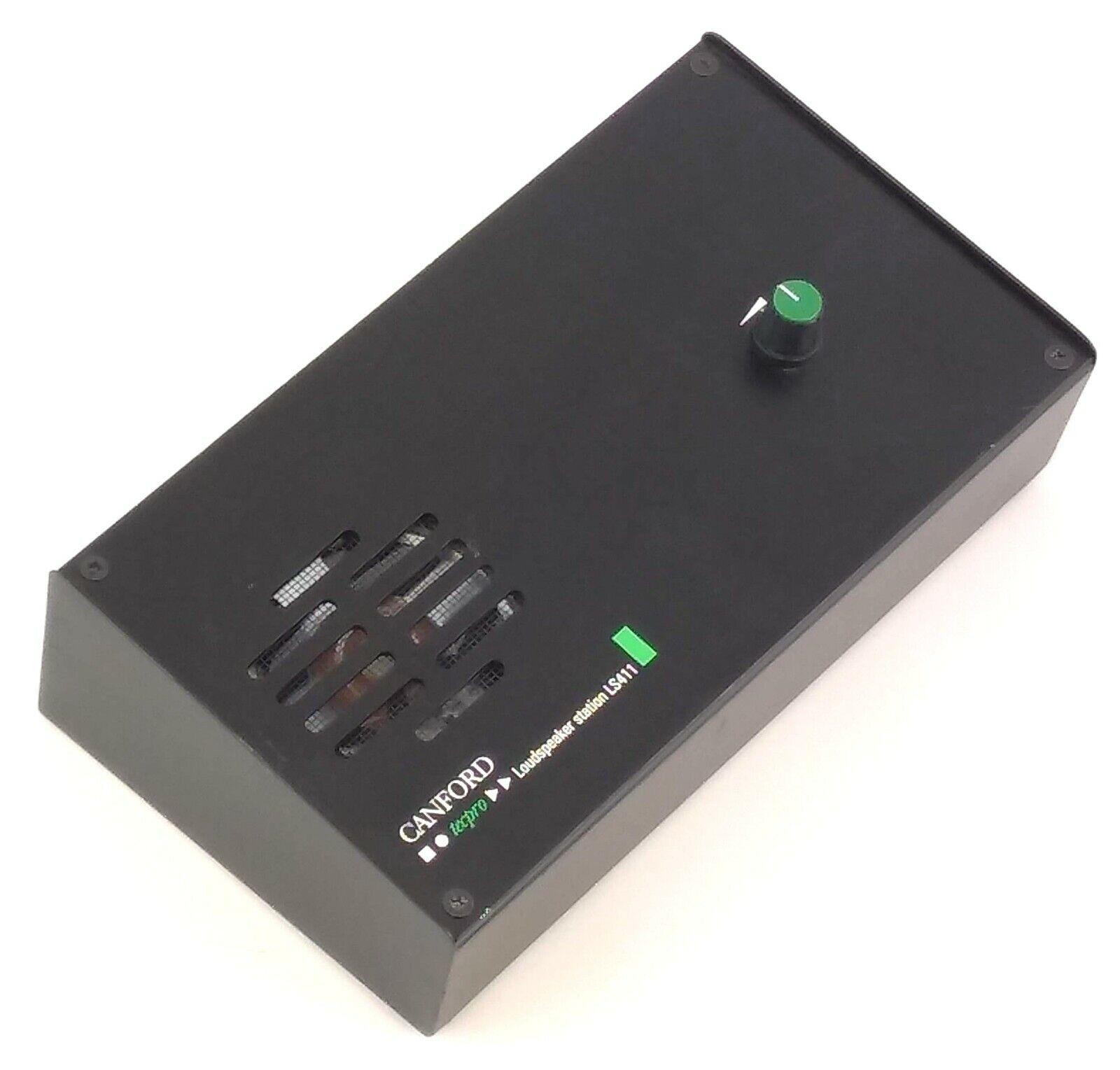 Canford Audio Tecpro LS411T Loudspeaker station, metal case