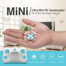 DHD D1 Drone Ultra Mini Headless Mode 2.4G 4CH 6-Axis Quadcopter RTF Micro UFO