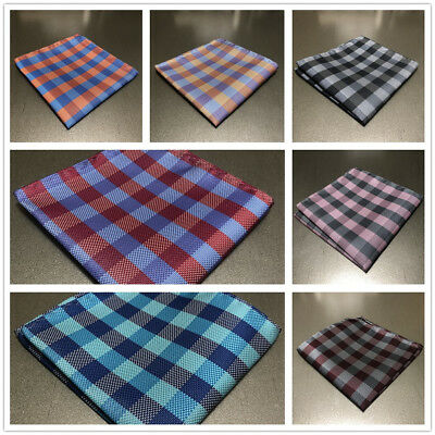 "Brand Q New Men/'s SOLID Pocket Square Hankie Only Peach 10/"" x 10/"" Wedding Prom"