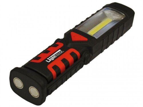 Phare pivotant inspection Light /& Torche Avec Base Magnétique COB DEL 220 LM