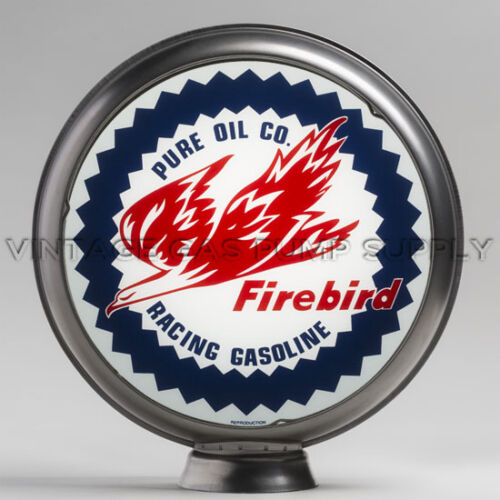 "Pure Firebird 13.5/"" Gas Pump Globe w// Steel Body G164"