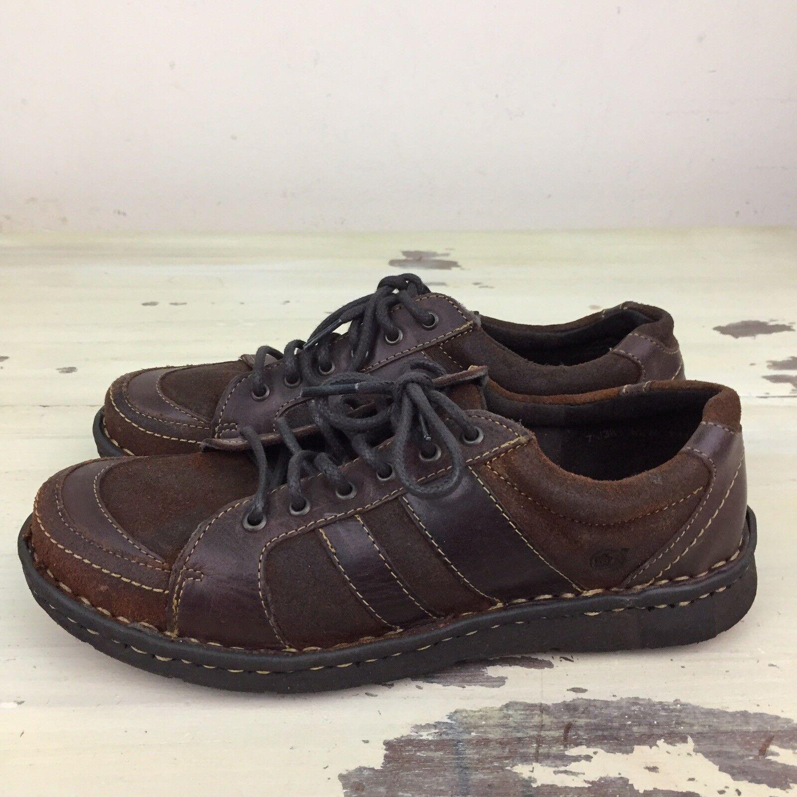 per il tuo stile di gioco ai prezzi più bassi BORN - NWOB Marrone Leather Leather Leather Casual scarpe da ginnastica scarpe, donna 7.5 - MUST SEE   solo per te