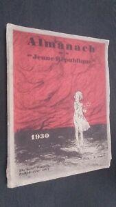 Almanach-de-La-Juvenil-Republica-Demuestra-1930-Paris-ABE