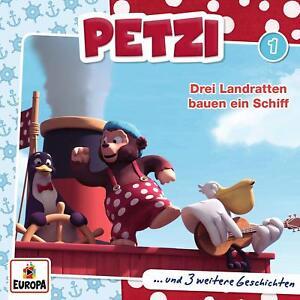 PETZI-001-DREI-LANDRATTEN-BAUEN-EIN-SCHIFF-CD-NEW