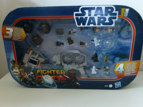 Star Wars - Fighter Pods 38631 Hasbro Serie 1 mit AT AT / Jabba / Yoda / Darth V