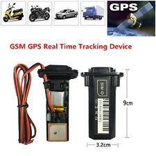 GSM GPS Tracker Car Motorcycle Vehicle Locator Global Real Time Tracking Device