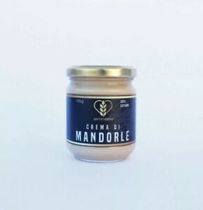 Crema-di-mandorle-Siciliane-dolce-spalmabile-da-200g-olio-extra-vergine-di-oliva