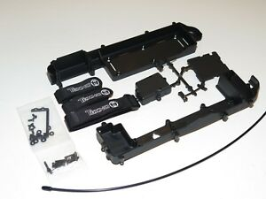 TKR5507 TEKNO SCT-410.3 SHORT COURSE TRUCK CHASSIS GUARDS BATTERY TRAY SERVO MNT