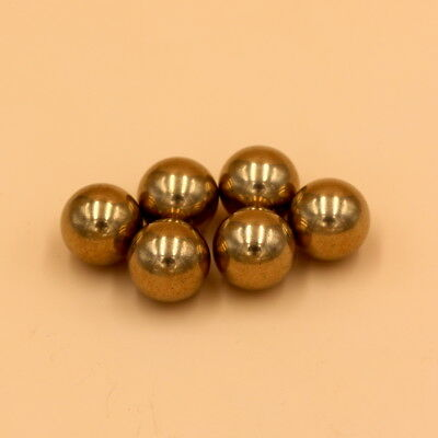 H62 15mm 5pcs  Brass Solid Balls Loose Bearing Balls High Precision