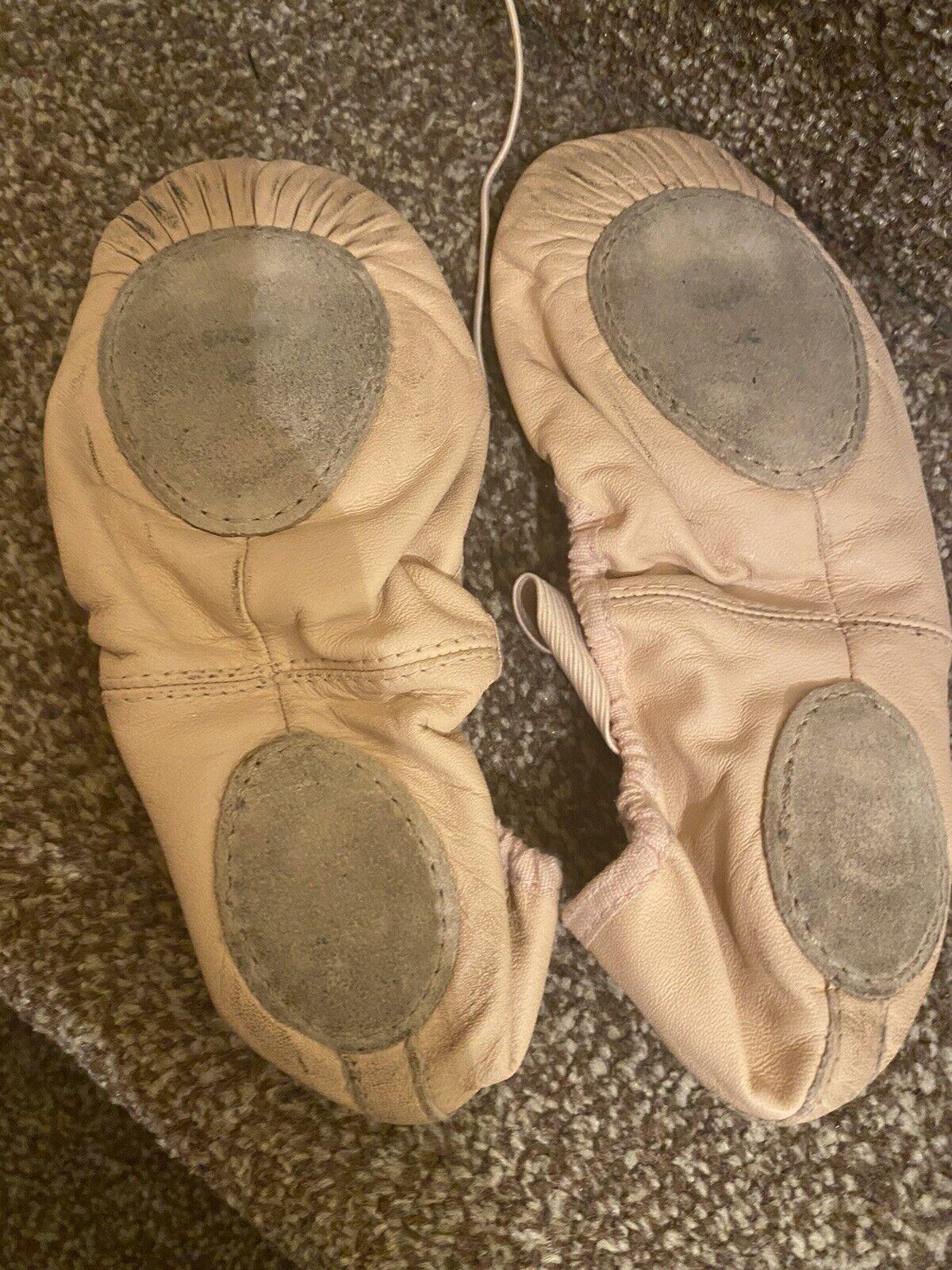 Size 3-4 Split Sole Ballet Shoes