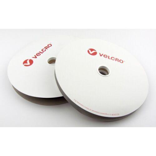 Puntada en tiras de Velcro ® 16mm Blanco 1 Metro De Cinta Coser En Gancho y bucle de 1 metros