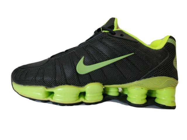 Mens Nike R4 Shox Shoes Black Blue Silver Size 11