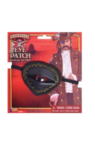 Buccaneer Eyepatch W// Eye Fancy Dress Accessory
