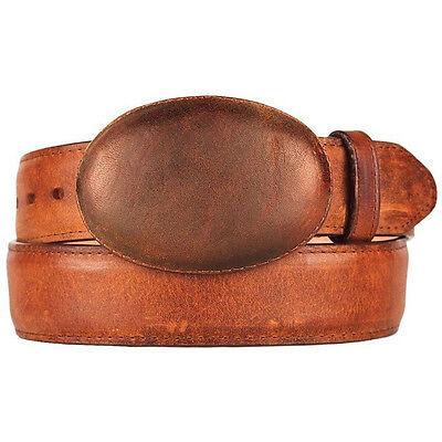 Men/'s King Exotic Genuine Handmade Leather Western Belt Removable Buckle