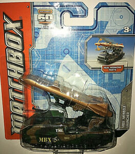 MATCHBOX-DIECAST-MBX-MISSILE-LAUNCHER-60-TH-ANNIVERSARY-NEW-amp-SEALED