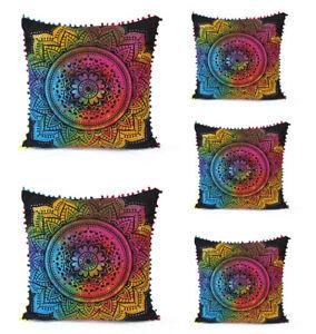 5-Pcs-Set-Of-24X24-034-Sofa-Pillow-Cover-Floral-Tie-Dye-Decorative-Cushion-Covers