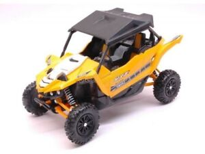 NEWRAY-Yamaha-ATV-yxz-1000R-Quad-Voiturette-1-18-ARTICLE-57653-cartgelb-Yellow