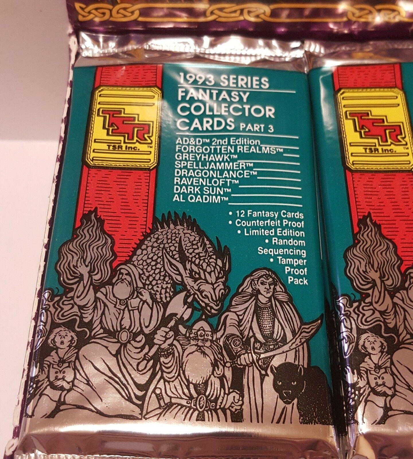 10 TSR 1993 AD &D 2 a EDISEringarKOLLECTOR bilDS.DEL 3 Advanced Dungeons & drake