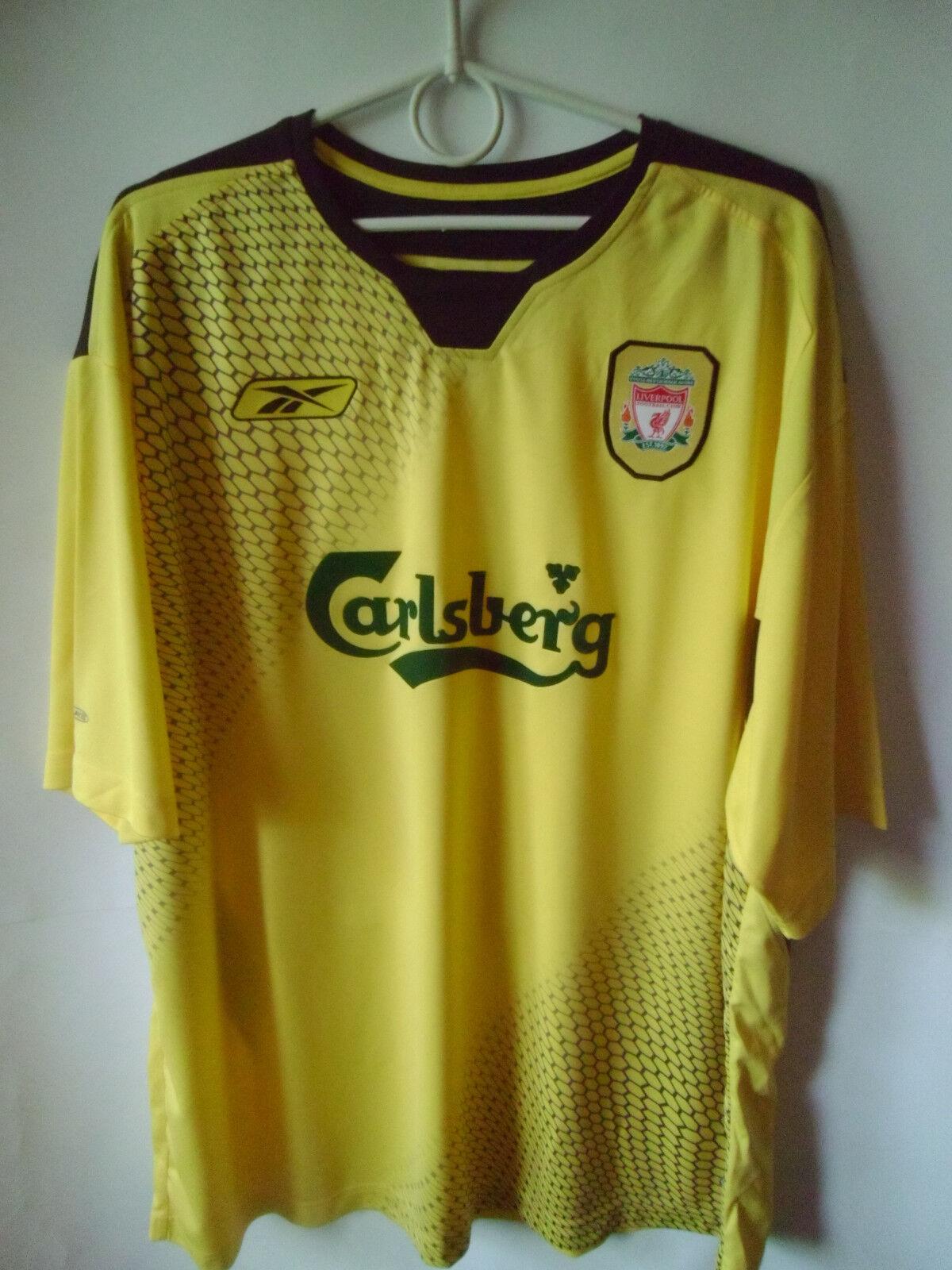 2004-06 Liverpool Away Shirt Jersey Trikot XL