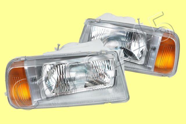 Suzuki Vitara Jeep SJ413 Escudo Headlights Front Lamps LEFT+RIGHT PAIR 1988-