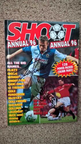 1996 SHOOT ANNUAL SIGNED BLACKBURN ROVERS DALGLISH