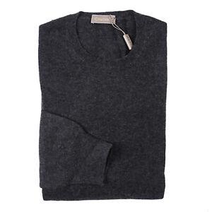 Cruciani Charcoal Gray Soft Knit 100% Cashmere Sweater XL (Eu 54) NWT