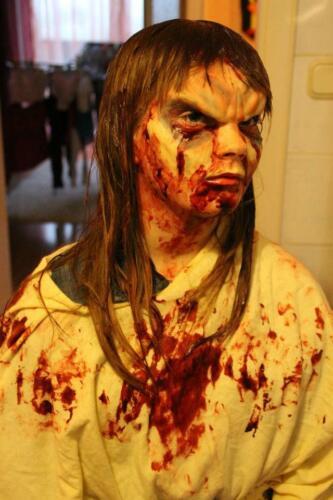 Professionale Halloween Zombie Maschera SFX