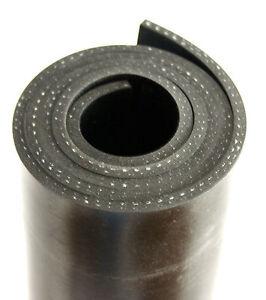 2000x100x3mm-mit-Gewebe-Gummiauflage-Gummistreifen-Gummi-Gummiplatte-Gummimatte
