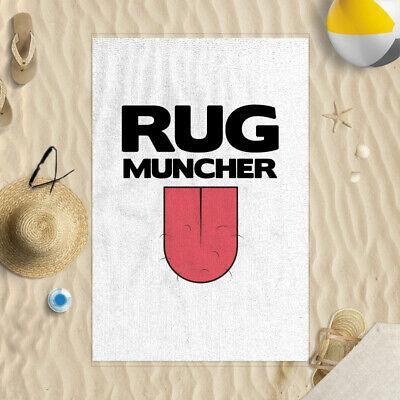 58x39 Rug Muncher Tongue Design