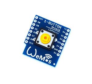 2PCS 1-Button Shield for WeMos D1 mini button