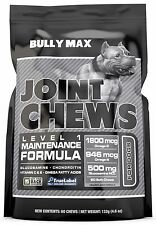 Bully Max Hip & Joint Chews for Dogs (2 PACKS / 120 soft chews)