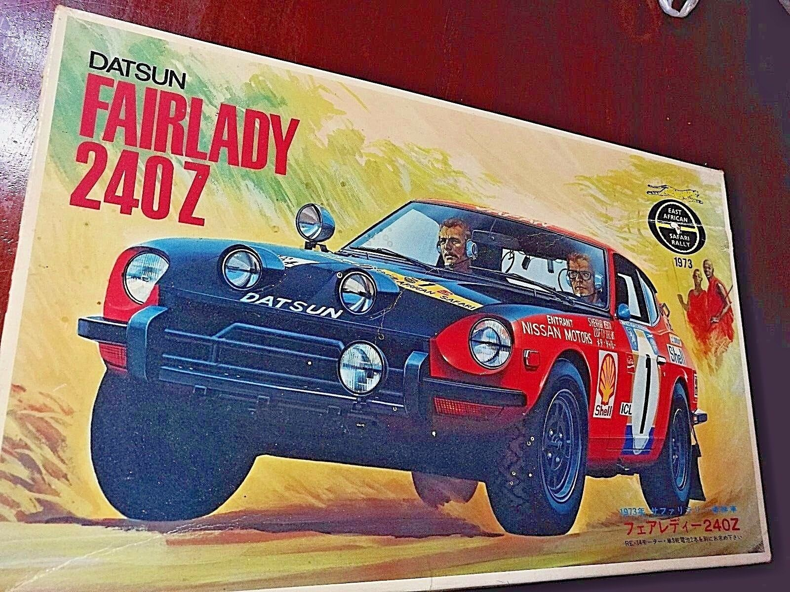FAIRLADY 240Z Sheka Metar 1973 SAFARI RALLY WINNER Limited Edition 1 20 FUJIMI