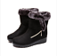 Women-039-s-Winter-Warm-Suede-Ankle-Snow-Boots-Fur-Thicken-Flats-Casual-Cotton-Shoes thumbnail 7