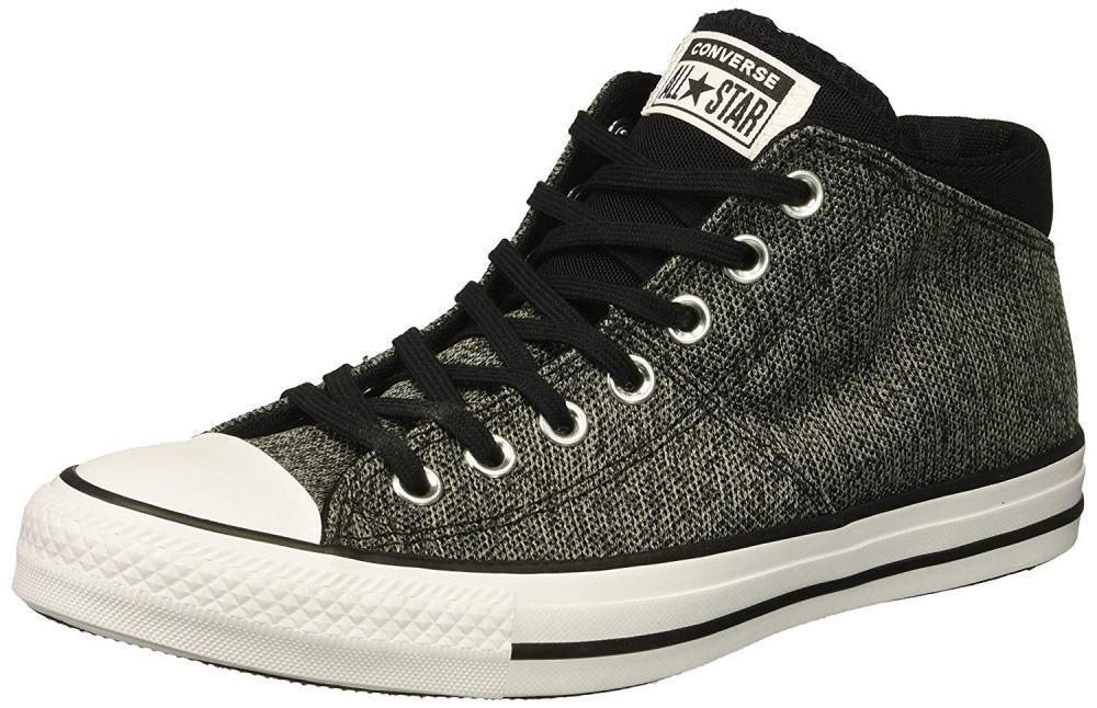 Converse Wouomo Chuck Taylor All Star Knit Madison Mid scarpe da ginnastica Casual Walking