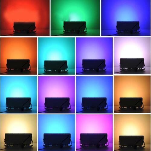 50W RGB Colour Changing LED Flood Light Spotlight Outdoor Garden Lamp IP66 220V