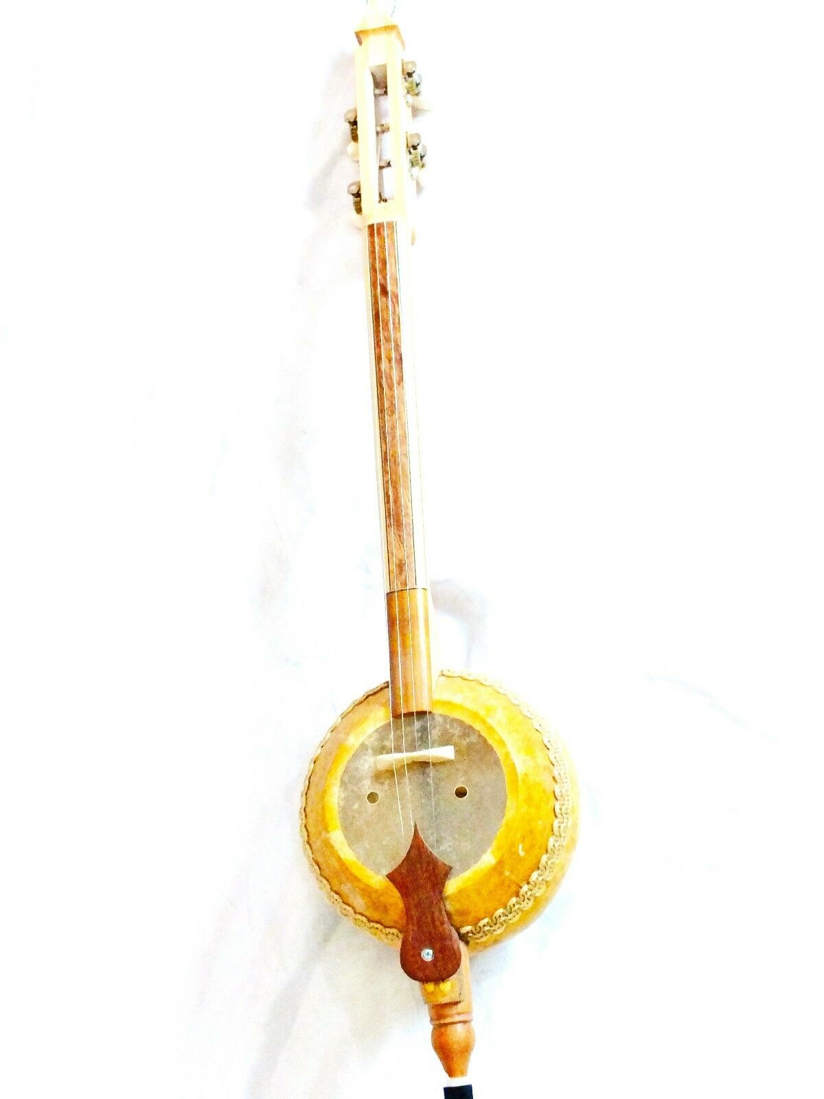 STRING INSTRUMENT QUALITY  4 COURSES GOURD  KABAK KEMANE W/ BAG NEW
