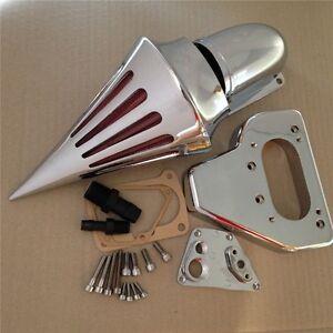 New-Intake-Spike-Air-Cleaner-Kits-For-2002-2009-Honda-Vtx-1800-R-S-C-N-F-Chrome
