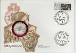 D-Numisbrief-Germany-5-DM-Silver-Monument-Conservation-1986