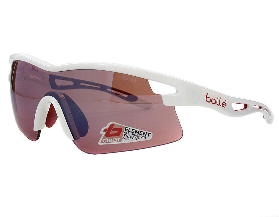 Gafas Bollé VORTEX blancoo LENTE rojo GLASSES BOLLE' Vortex blanco Lente rojo