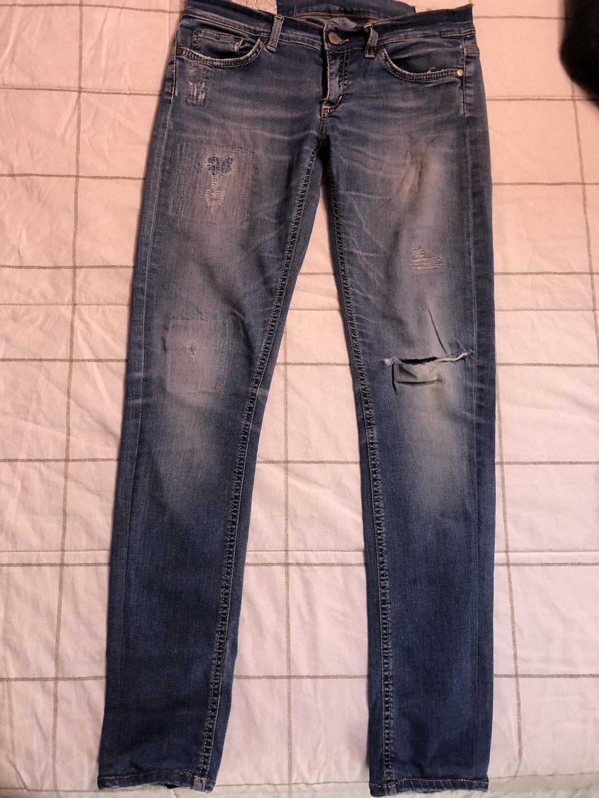Jeans Jeans Jeans Dondup Donna Taglia 29 Ottime Condizioni 0e4e56