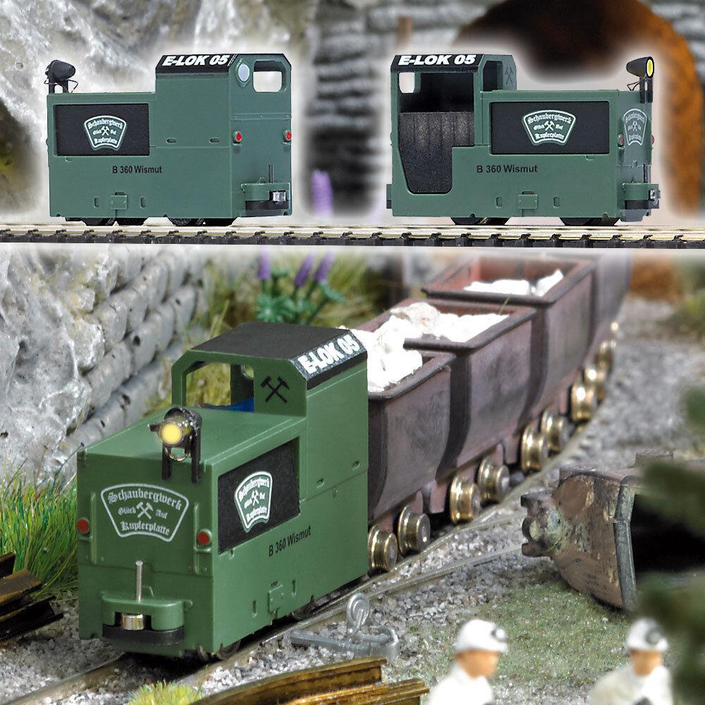 Busch 5011 traccia Corte miniere locomotiva b360 VERDE COLORI  neu in OVP