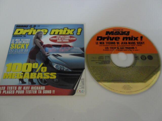 CD-DRIVE MIX! Volume16-100% Mega bass-Hard Tuning-Sicky -(CD SINGLE)2002-7TRACK